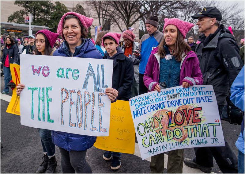 A Washington DC Womens March 282 January 21 2017