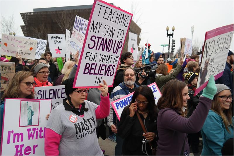 A Washington DC Womens March 205 January 22 2017