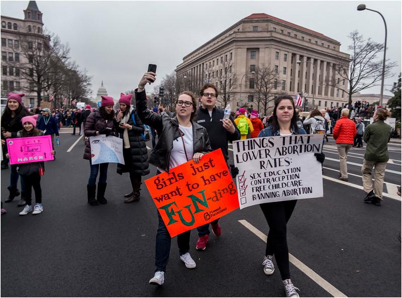 A Washington DC Womens March 276 January 21 2017
