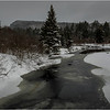 Adirondacks Arietta West Branch Sacandaga River 2 March 2018