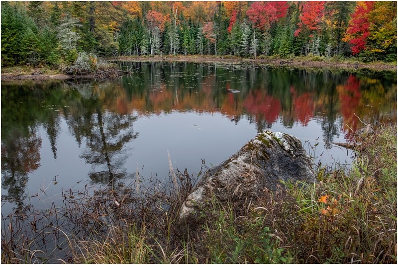Adirondacks Lake Abenakee 1 October 2018