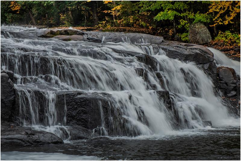 Adirondacks Buttermilk Falls 4 October 2018
