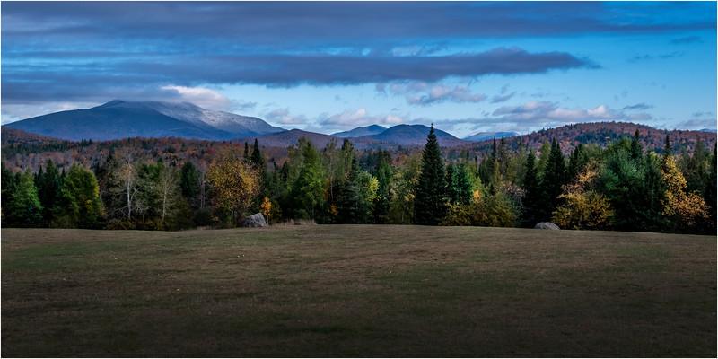 Adirondacks Newcomb Overlook Santanoni Range 1 October 2018