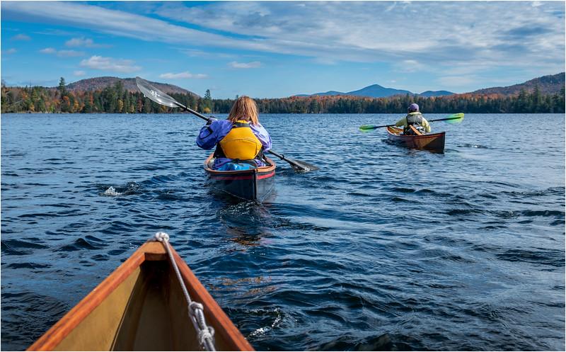 Adirondacks Essex Chain Third Lake 2 October 2018