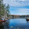 Adirondacks Essex Chain Fourth Lake 7 October 2018