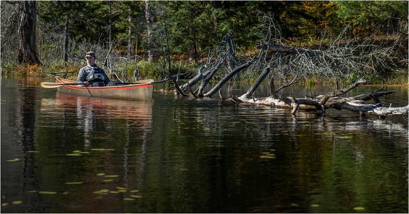 Adirondacks Essex Chain Third Lake 12 October 2018