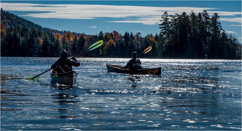 Adirondacks Essex Chain Fourth Lake 17 October 2018