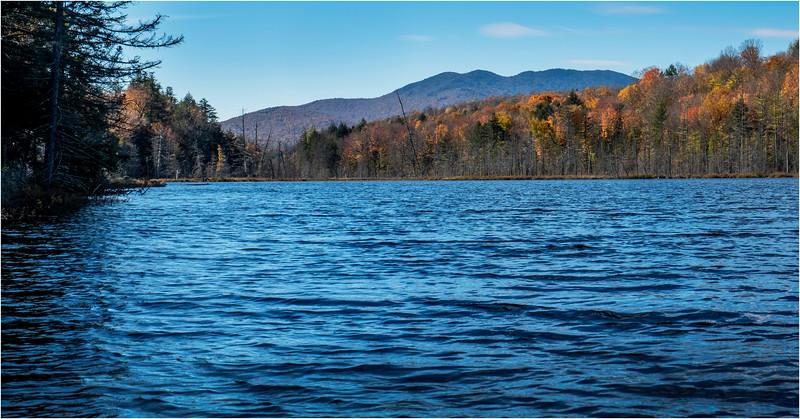 Adirondacks Essex Chain Sixth Lake 20 October 2018