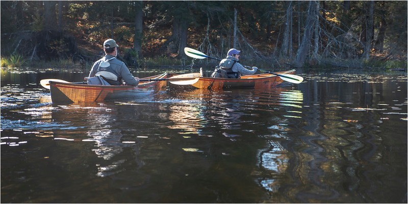 Adirondacks Essex Chain Fourth Lake 19 October 2018
