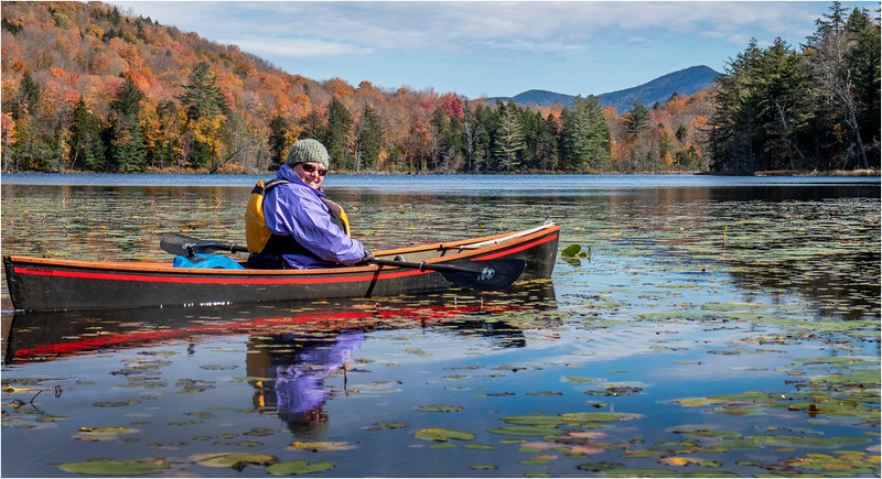 Adirondacks Essex Chain Sixth Lake 12 October 2018