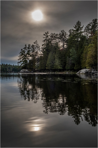 Adirondacks Middle Saranac Lake 16 September 2018