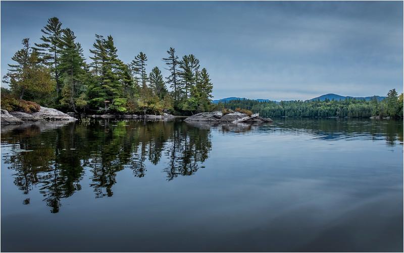 Adirondacks Middle Saranac Lake Weller Pond 24 September 2018