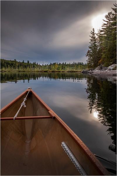 Adirondacks Middle Saranac Lake 27 September 2018