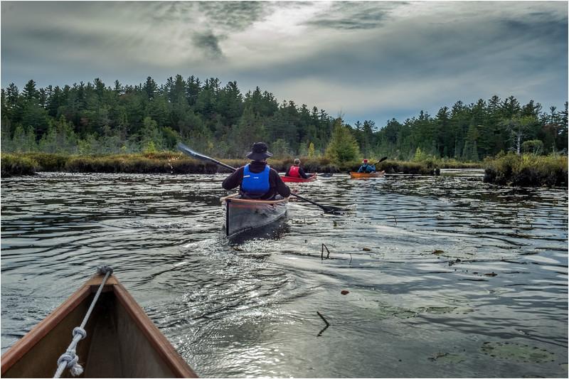 Adirondacks Middle Saranac Lake Little Weller Pond 4 September 2018