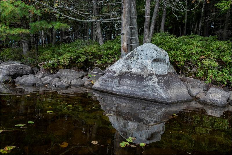 Adirondacks Middle Saranac Lake Weller Pond 14 September 2018