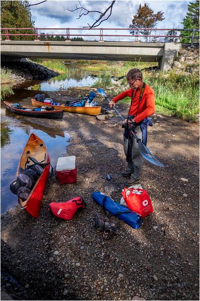 Adirondacks Middle Saranac Lake South Creek 24 September 2018