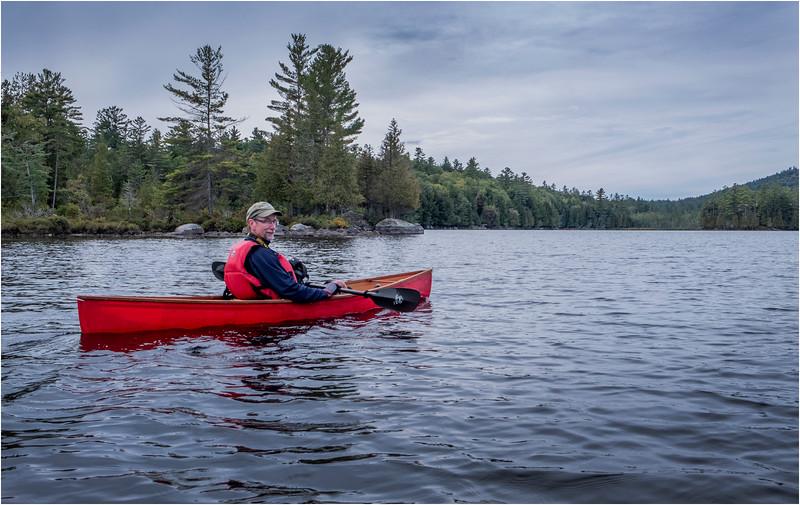 Adirondacks Middle Saranac Lake Weller Pond 6 September 2018