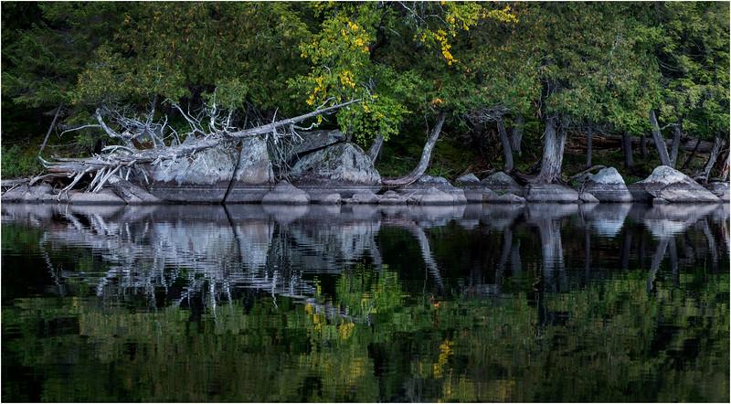 Adirondacks Middle Saranac Lake Weller Pond 32 September 2018