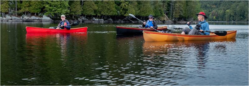 Adirondacks Middle Saranac Lake Weller Pond 41 September 2018
