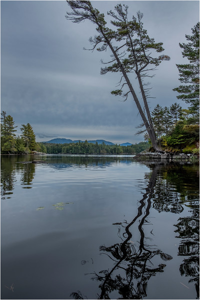 Adirondacks Middle Saranac Lake Weller Pond 23 September 2018