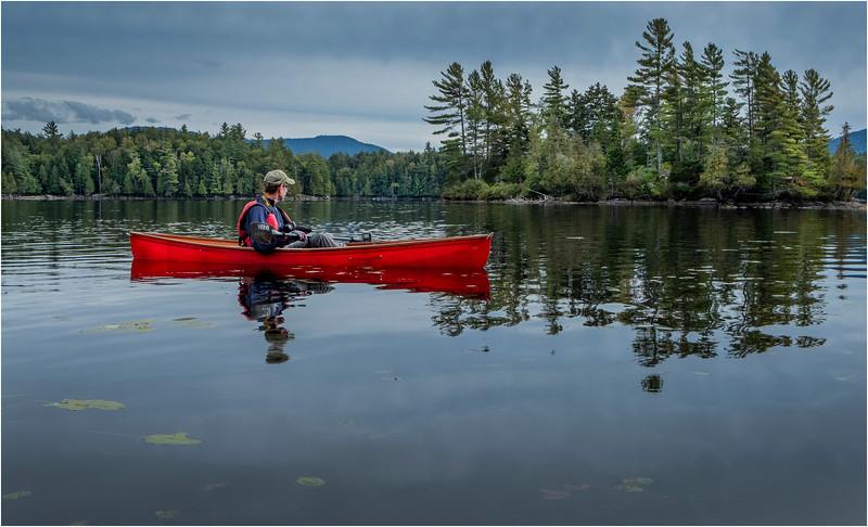 Adirondacks Middle Saranac Lake Weller Pond 20 September 2018