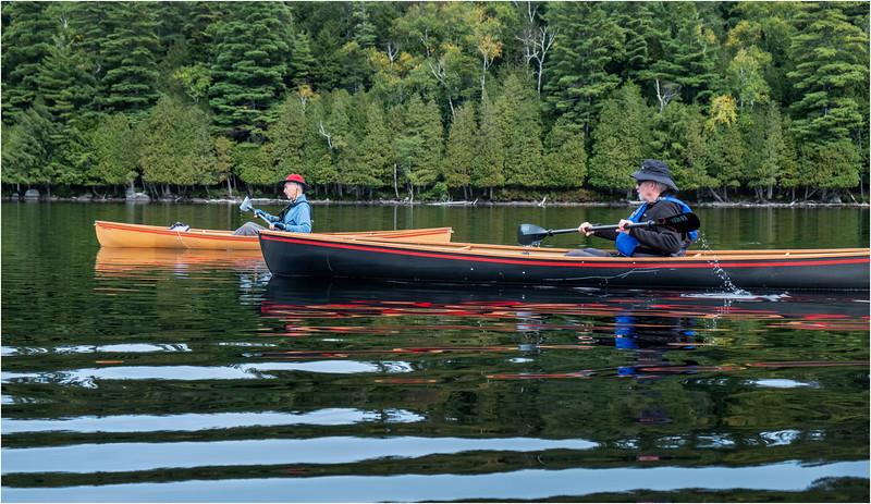 Adirondacks Middle Saranac Lake Weller Pond 16 September 2018