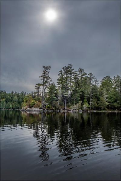 Adirondacks Middle Saranac Lake Weller Pond 28 September 2018