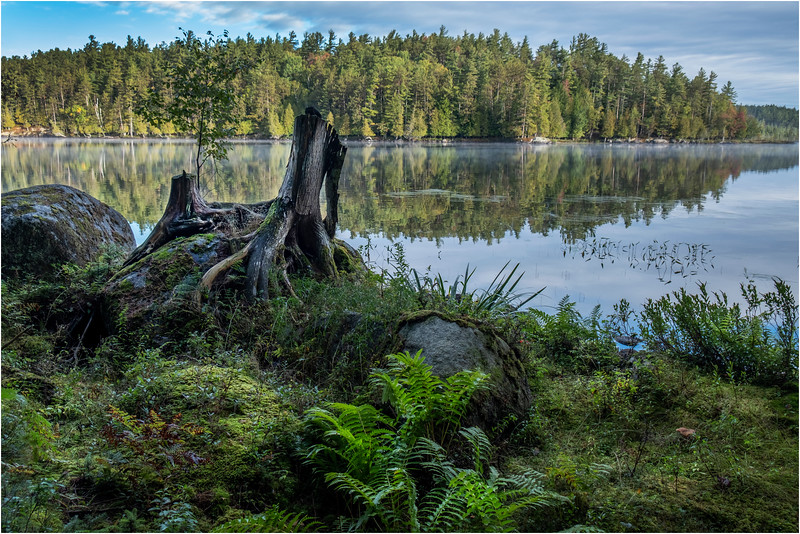Adirondacks Middle Saranac Lake 4 September 2018