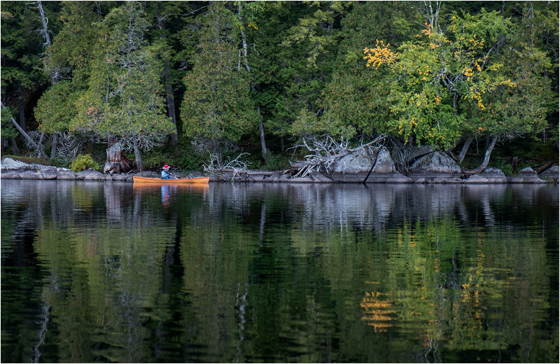 Adirondacks Middle Saranac Lake Weller Pond 30 September 2018