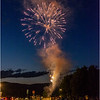 Adirondacks Lake George Fireworks Night 7 June 2018