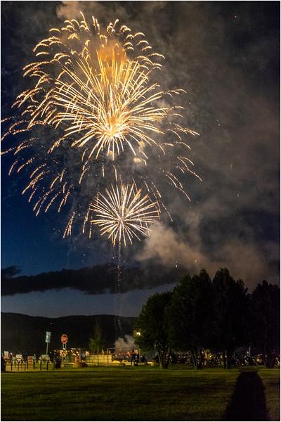 Adirondacks Lake George Fireworks Night 14 June 2018
