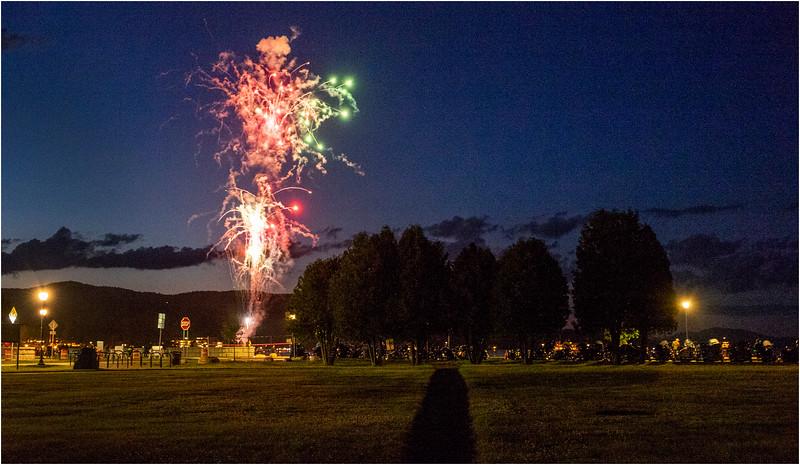 Adirondacks Lake George Fireworks Night  2 June 2018