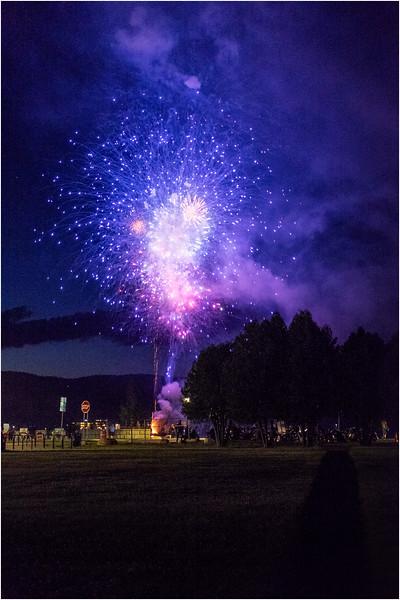Adirondacks Lake George Fireworks Night 16 June 2018