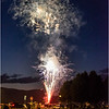 Adirondacks Lake George Fireworks Night  4 June 2018