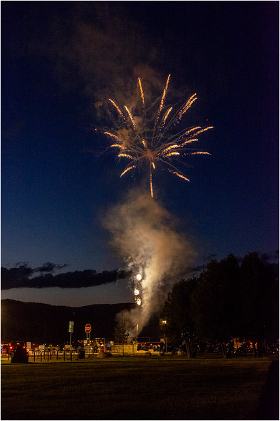 Adirondacks Lake George Fireworks Night 8 June 2018