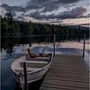 Adirondacks Seventh Lake Sunset 7 September 2018