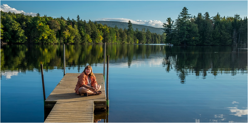 Adirondacks Seventh Lake Sunset 13 September 2018