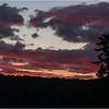 Adirondacks Seventh Lake Sunset 22 September 2018