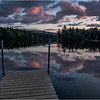 Adirondacks Seventh Lake Sunset 5 September 2018