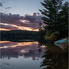 Adirondacks Seventh Lake Sunset 4 September 2018