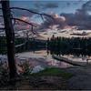 Adirondacks Seventh Lake Sunset 2 September 2018
