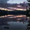 Adirondacks Seventh Lake Sunset 6 September 2018