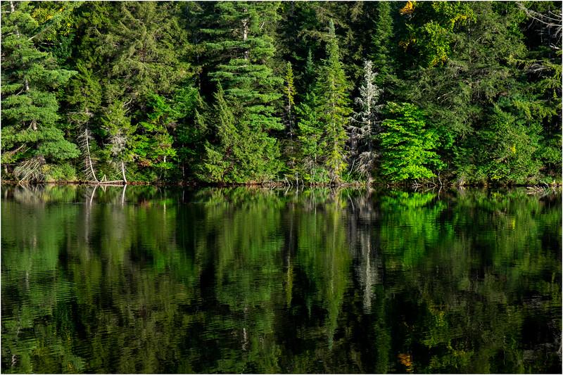 Adirondacks Seventh Lake Morning 18 September 2018