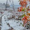 New York New Scotland First Snow 20 October 2020