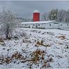 New York New Scotland First Snow 15 October 2020