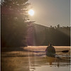 Adirondacks Lake Kushaqua Morning 7 August 2020