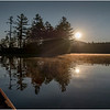 Adirondacks Lake Kushaqua Morning 6 August 2020
