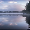 Adirondacks Rollins Pond Morning 17 August 2020