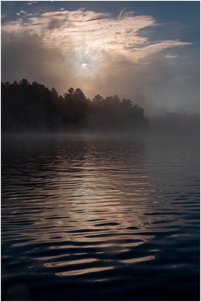 Adirondacks Rollins Pond Morning 15 August 2020