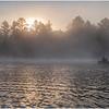 Adirondacks Rollins Pond Morning 4 August 2020